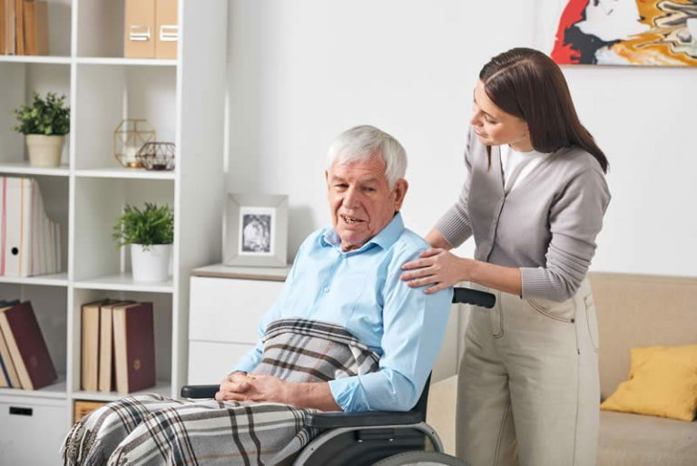 A Client Story – Elderly Man with Mobility Issues